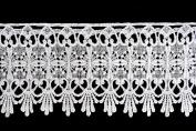 Altotux 10cm - 1.9cm White Venice Lace Ribbon Trim By Yard