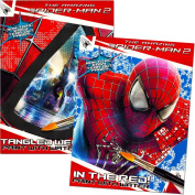 Marvel Spiderman Paint With Water Books with Paint Brush