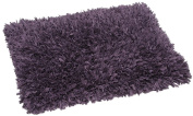 FHE Group Tissue Rug Bath Mat, 110cm by 70cm , Purple