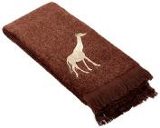Avanti Animal Parade Wash Cloth, Mocha