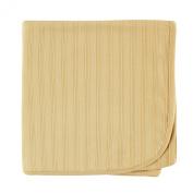 Hudson Baby Organic Cotton Receiving Blanket, Tan