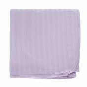 Hudson Baby Organic Cotton Receiving Blanket, Lavender