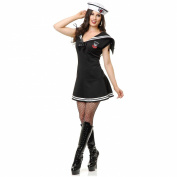 Charades Costumes - WWII Sailor Gal Adult Costume