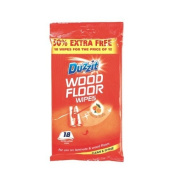 Duzzit Wood Floor Wipes Pack Of 18