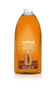Method Squirt and Mop Wood Floor Cleaner Refill, Almond, 2010ml