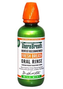 TheraBreath Dentist Recommended Fresh Breath Oral Rinse - Mild Mint Flavour, 470ml (Pack of 6) ,Thera-hehy