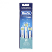 Oral-B Professional Floss Action Replacement Brush Head, 3 Count