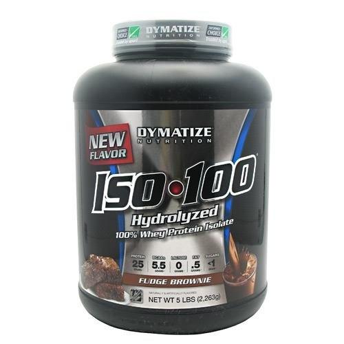Dymatize Nutrition ISO 100 Whey Protein Powder Fudge Brownie 23kg By