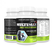 MultiMax Men's 1 A Day Multivitamin Targeted Nutrients for Men's Health Full Spectrum of Minerals B Vitamins and Antioxidants Supports an Active Lifestyle High Potency Formulation -Made in the USA under full compliance with all appropriate FDA regulations