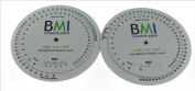 BMI Wheel, Double Sided Adult and Paediatric in Pounds and Inches 1 Pack
