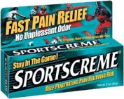 Sportscreme Topical Anagesic, Deep Penetrating Pain Relieving Rub, 90mls