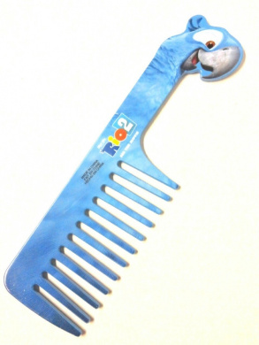 Avon Detangling Brush for Kids - Limited-Edition - Comb inspired by character Blu from Rio 2