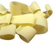 Belgian Chocolate Ribbon Shavings White Chocolate - 2.5kg
