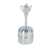 Tea Strainer Fox Run Tea Infuser Stainless Steel Tea Ball Teapot Handle Kitchen Tea Ball