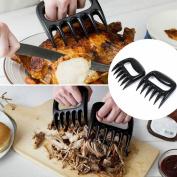 BBQ Meat Claws Shredding Lift Tongs Pull Handler Handling Fork Toss Pork New