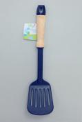 Everyday Kitchenware Nylon Slotted Turner with Wood Handle