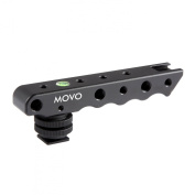 Movo Photo SVH6 Video Stabilising Top Handle & Cold Shoe Extender for Canon EOS, Nikon, Olympus & Pentax DSLR Cameras