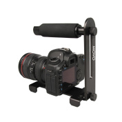 Movo Photo VH300 Collapsable Aluminium Video Stabiliser Handle for DSLR's, Mirrorless Cameras & Camcorders