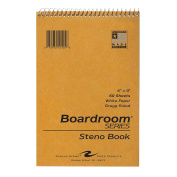 Roaring Spring Steno Notebook, 15cm x 23cm , 60 Sheets, Gregg Ruled, Brown Kraft Covers