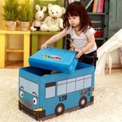 TAYO Bus Storage Bin / Storage Box - Blue