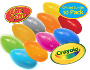 Crayola Silly Putty Gift Set - 10 Pack Bundle Original Metallic Changeable Glow