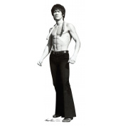 """Bruce Lee """"Game"""" - Advanced Graphics Life Size Cardboard Standup"""