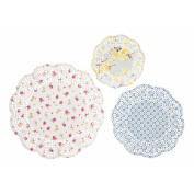 Talking Tables Truly Scrumptious Doily (24 Pack), Multicoloured