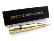 50 Calibre Bottle Breacher Bottle Opener in Polished Brass with Gift Box
