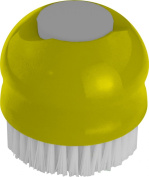 Casabella Two in One Veggie Brush, Green and Cool Grey
