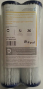 Whirlpool 149008 2-Pack Standard Whole House Pleated Replacement Water Filters WHKF-WHPL