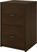 Ameriwood The Home Office 2-Drawer File Cabinet, Dark Cherry