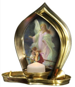 Candle Guardian Angel - Religious Christian Light Collectible Candle Divine Light Guardian Angel