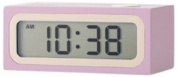 Mondo Travel Alarm Clock Pink
