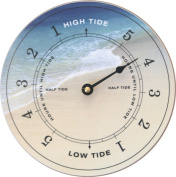 Tidetime Nautical Tide Clock - Beach Face