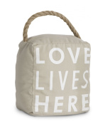 Pavilion Gift Company 72153 Love Lives Here Door Stopper, 13cm by 15cm