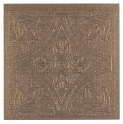 Achim Home Furnishings Metallo Peel & Stick Vinyl Wall Tiles, 10cm by 10cm , Copper, 27-Pack