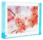Colour Edge Magnet Frame by Canetti-Pastel Aqua 13cm x 18cm