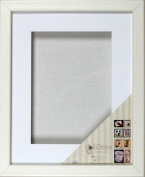 Timeless Frames Collectible Shadowbox Frame, Fits 41cm by 50cm , White