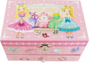 """Lily & Ally / Princess Musical Jewellery Box, with Melody of """"Over the Rainbow"""""""