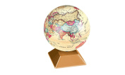 Think Tank Technology KC98162 Magic Revolving Globe, Gold