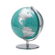 Torre & Tagus 901749A Latitude World Globe, Aqua