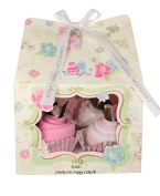 Vintage Tea Party Baby Girl Clothes Cupcake Baby Shower Gift FREE Delivery