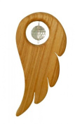 Window Watches Mobile angel wings from pear wood, Sterngasse
