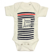 Souvenirs of France - Paris 'Sailor' Baby Bodysuit