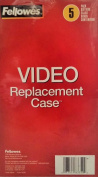 VHS Video Replacement Cases, 5 Pack