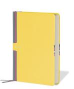 Semikolon Creativo Medium Organiser, Lined Paper, Perpetual Calendar, Sun Yellow