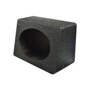 Q Power QBTW6X9 Single 15cm x 23cm Speaker Boxes with Durable Bed Liner Spray