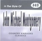 JOHN MICHAEL MONTGOMERY Country Karaoke Classics CDG Music CD