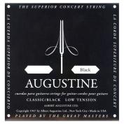 Augustine AUGBLK-1E Nylon Classical Guitar Strings, Light