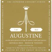 AUGUSTINE IMPERIAL-RED MEDIUM TENSION CLASSICAL GUITAR STRINGS